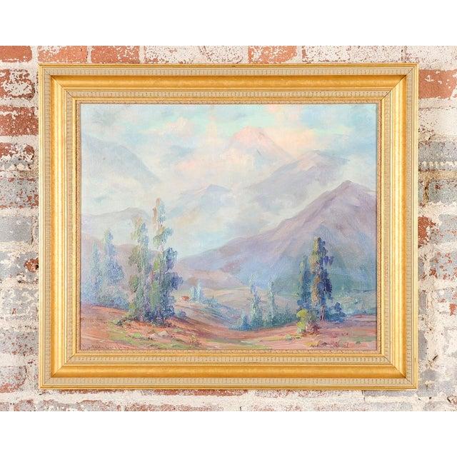 Martella Cone Lane -California Landscape -Oil Painting -Impressionist C.1920s - Image 3 of 10