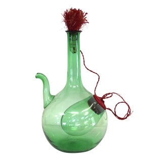 Italian Blown Glass Decanter