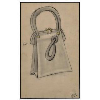 1930's Art Deco Pocketbook Fashion Design