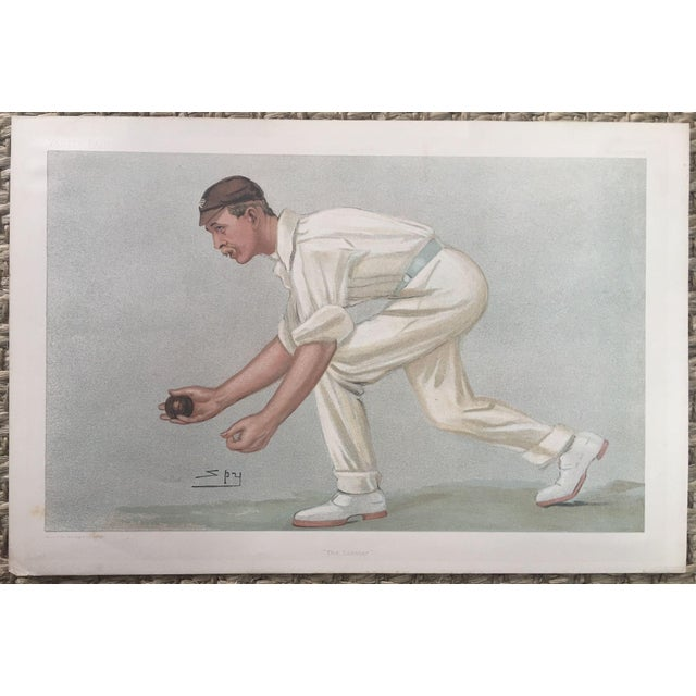 Image of Digby Loder Jephson Vanity Fair Cricket Print