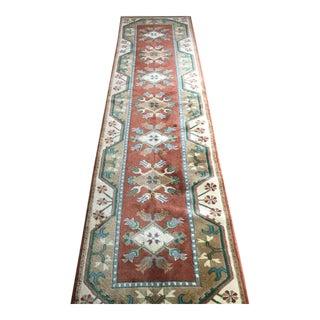 Turkish Milas Wool Runner - 2′8″ × 10′2″
