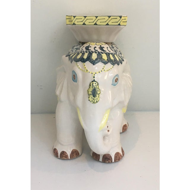Elephant Garden Stool Side Table - Image 5 of 7