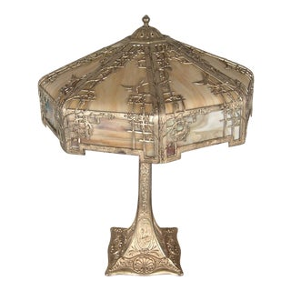 Silver-Plated Table Lamp
