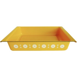 Cathrineholm Yellow Enamel Lasagne Dish