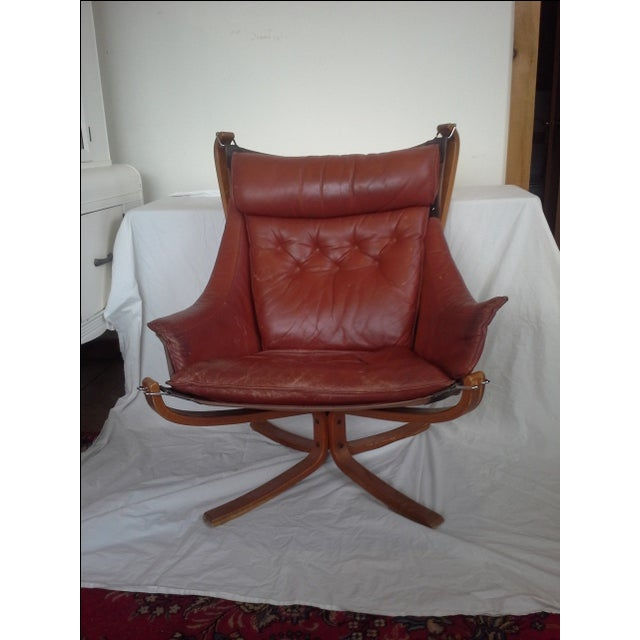 Sigurd Russell High Back Falcon Chair - Image 2 of 6