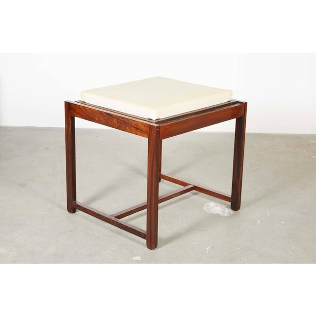 Danish Reversible End Table / Ottoman - Image 2 of 8