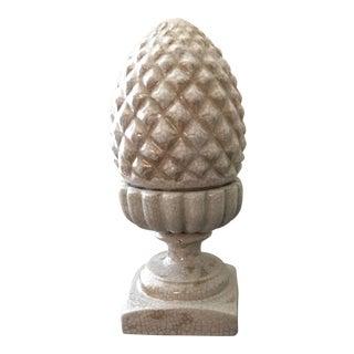 Decorative Ceramic Pineapple Urn