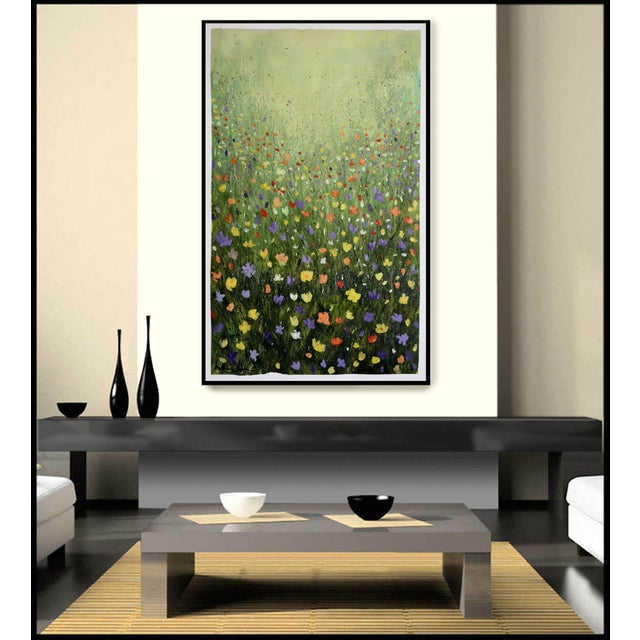 "Image of ""Flowerfield Three"" Painting"