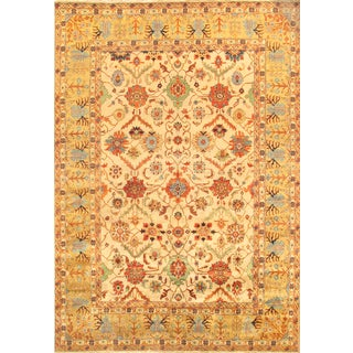 "Pasargad's Mahal Lamb's Wool Area Rug- 8'9""x11'8"""