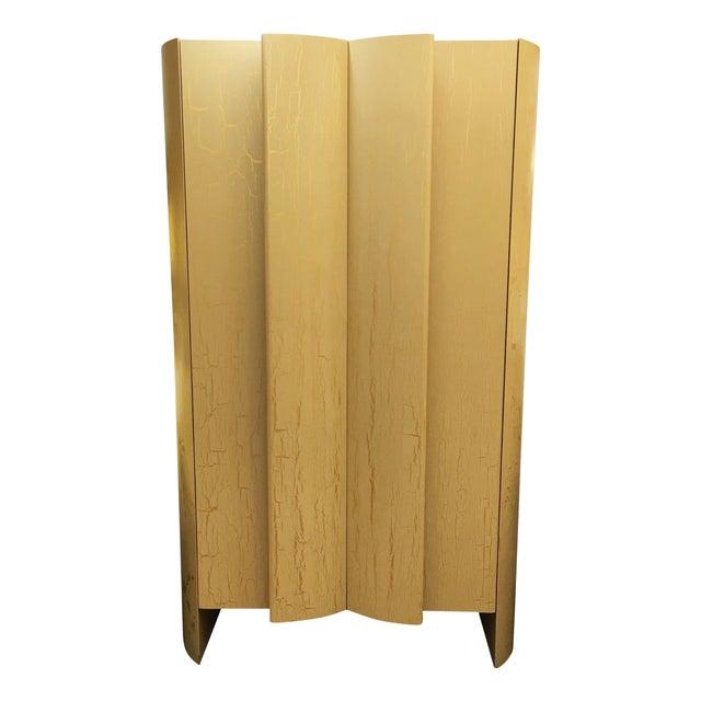 Custom Art Deco Gold & Ivory Bar or Display - Image 1 of 10