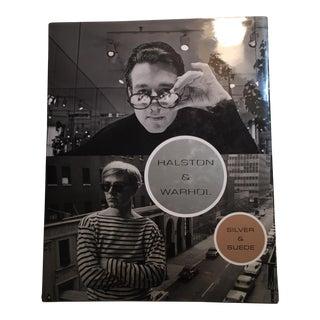 Halston & Warhol Silver & Suede, Book