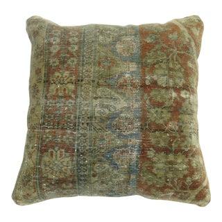 19th century Persian Rug Pillow