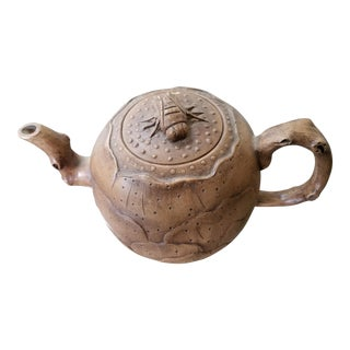 Vintage Yxing Red Clay Teapot