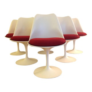 Eero Saarinen Tulip Dining Chairs for Knoll - Set of 8