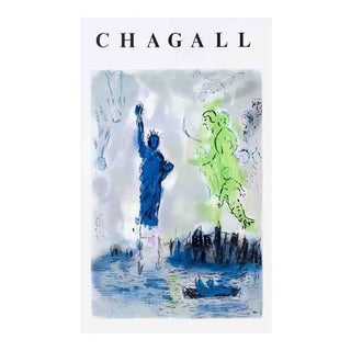 Chagall Statue of Liberty Lithograph
