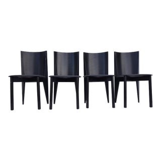 Italian Set Of Four Dining Chairs By Calligaris .