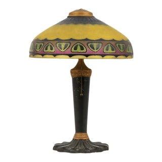 """Pittsburgh """"Chipped Ice"""" Lamp"""