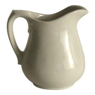Small Milk or Gravy Crock Pitcher