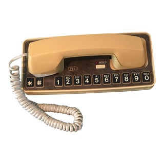 1983 Gold Pushbutton Phone