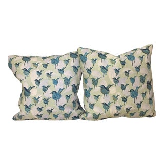 Luludk Birds Accent Pillows - A Pair