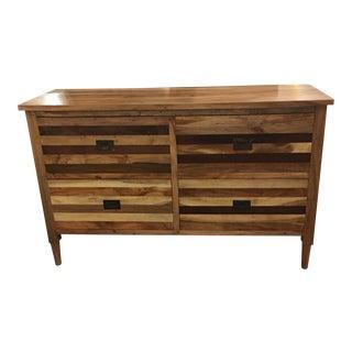 Reclaimed Tropical Hardwood Four Drawer Dresser