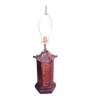 Vintage Pagoda Table Lamp
