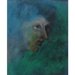 Pastel Over Monotype by Walter Kuhlman