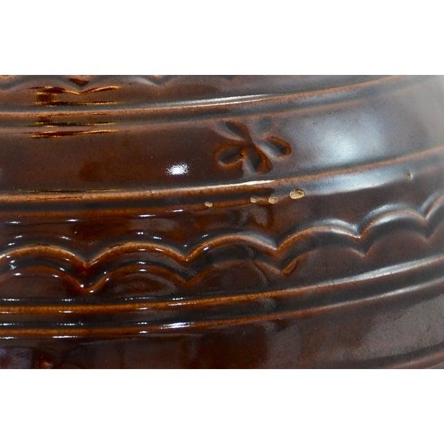 Brown Rustic Stoneware Bowl - Image 5 of 5