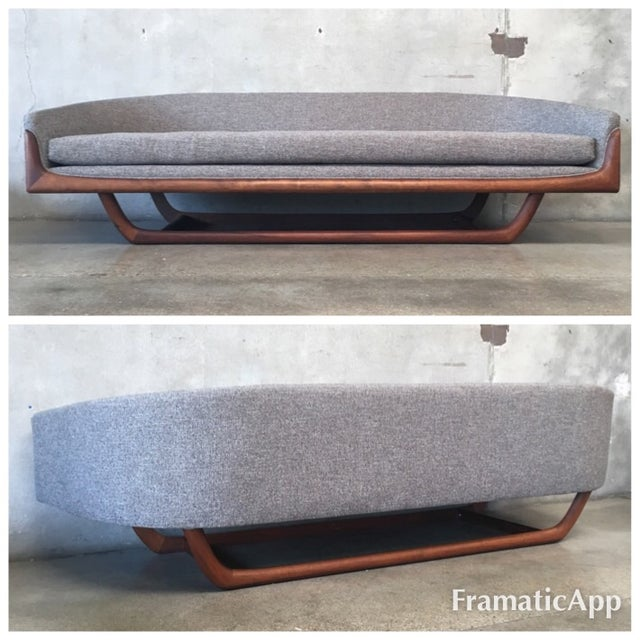 Mid-Century Modern Sofa by Adrian Pearsall - Image 2 of 9