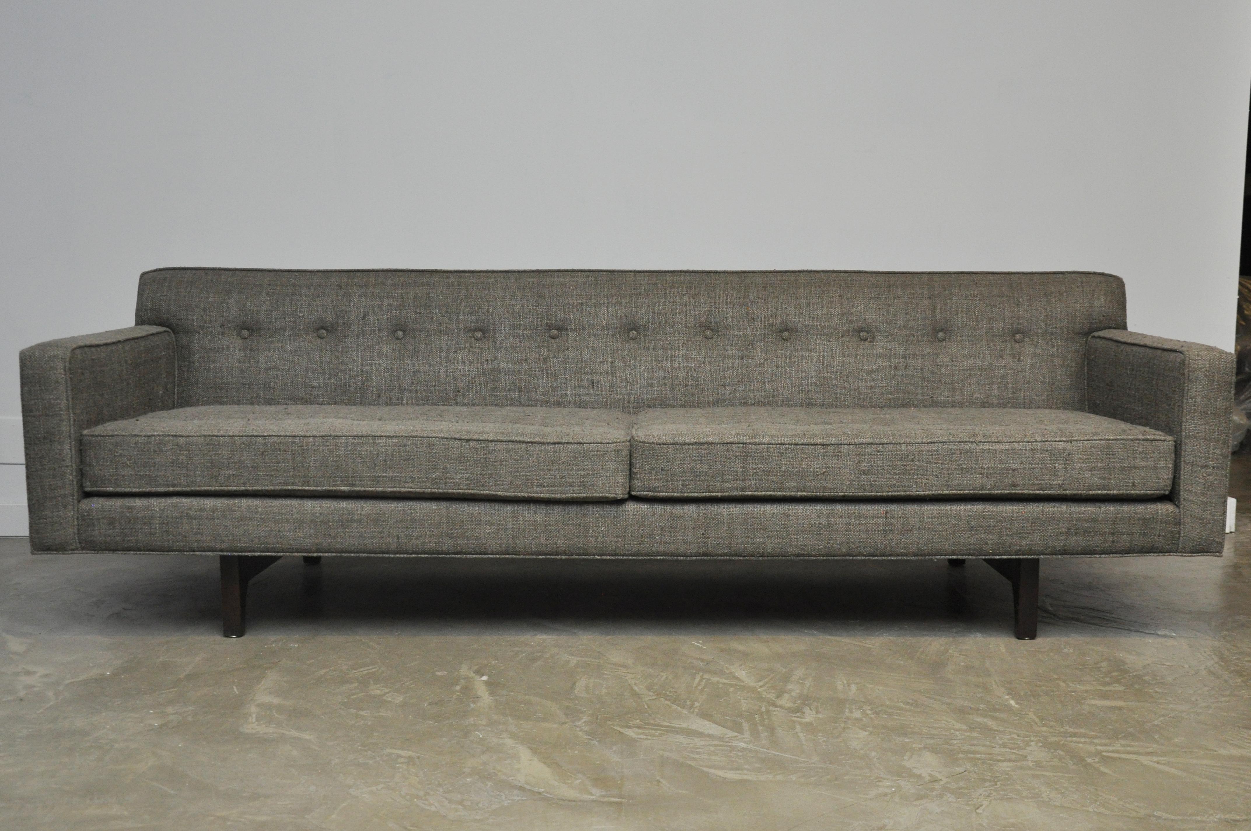 Perfect Dunbar Bracket Back Sofa By Edward Wormley   Image 2 Of 10