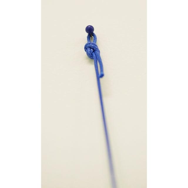 Climbing Man Wall Art Sculpture - Blue - Image 3 of 3