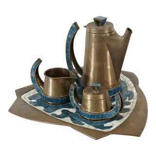 Salvador Teran Coffee Set, circa 1960
