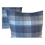 Image of Scottish Wool Plaid Pillows - Pair
