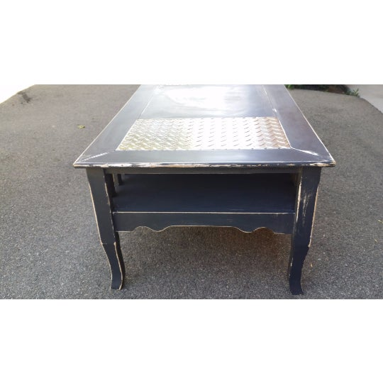 Chalk Paint Distressed Coffee Table Chairish