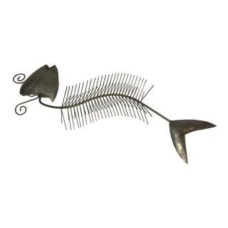 Steel Fish Sculpture