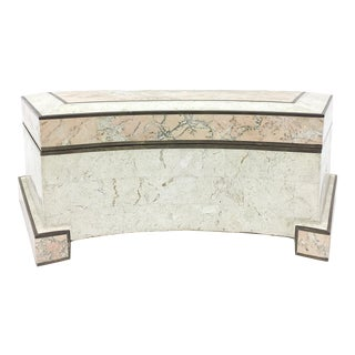 Maitland-Smith Curved Stone Box