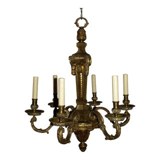 Antique Chandelier in Louis XVI Style