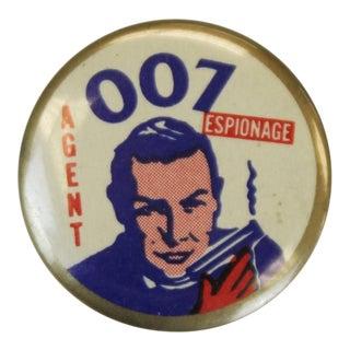 Agent 007 Espionage Pin