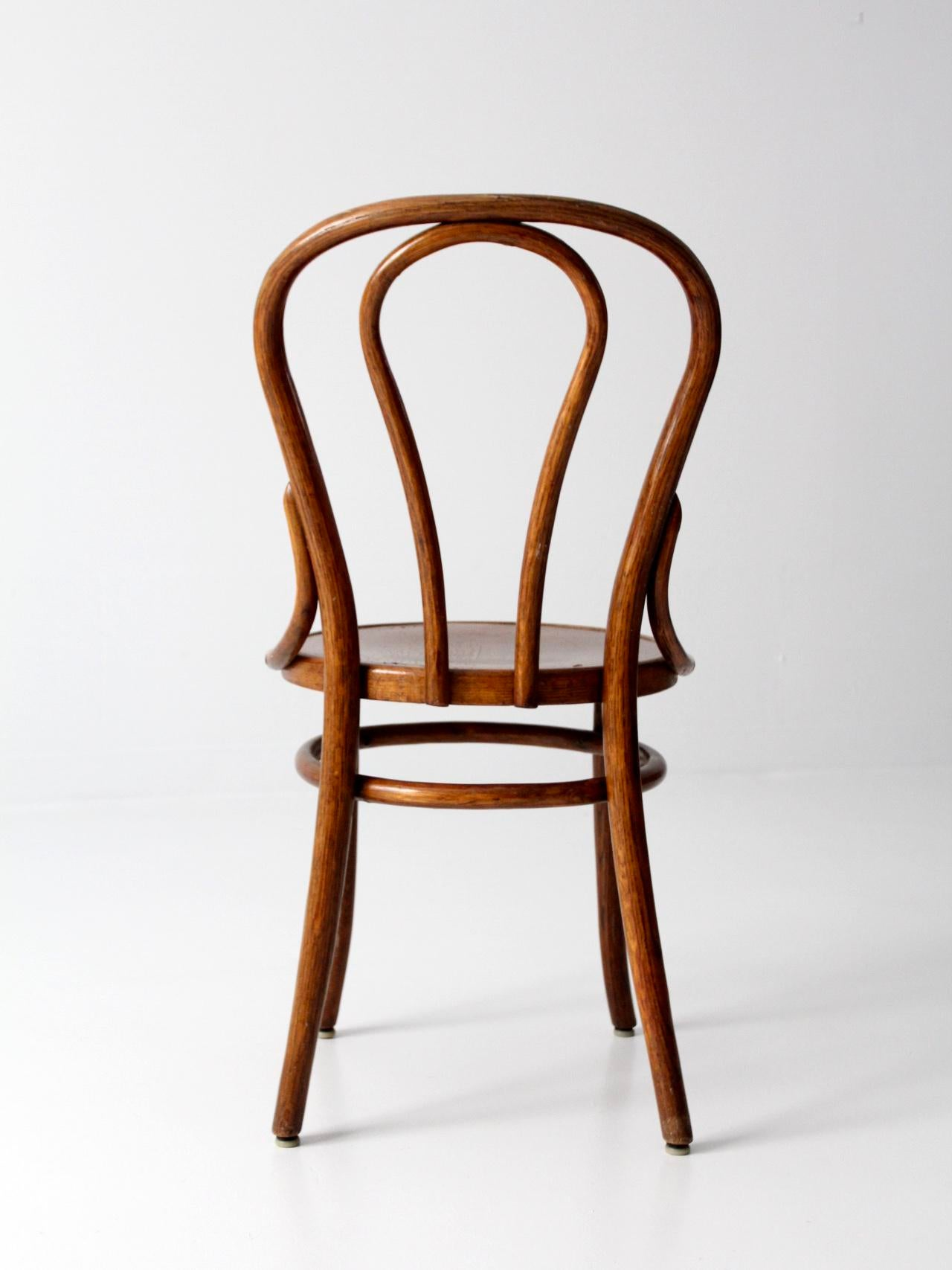 Amazing Vintage Bentwood Cafe Chair   Image 8 Of 9