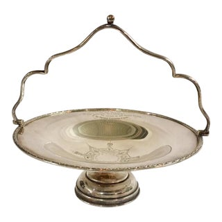 Silverplated Antique Fruit Compote