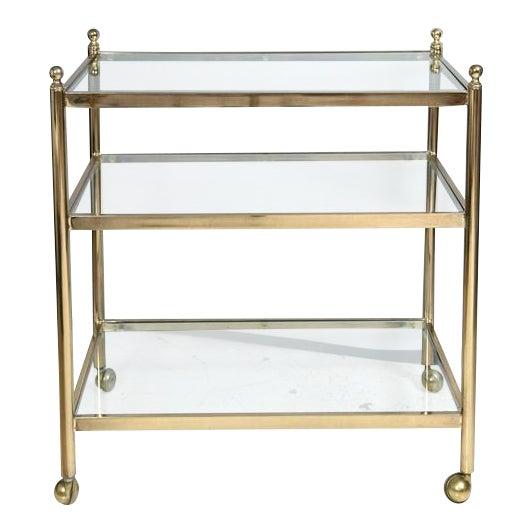 Brass Bar Cart - Image 1 of 5