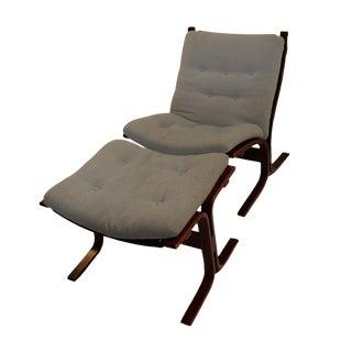 Westnofa Siesta Rosewood Lounge Chair & Ottoman