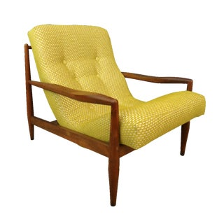 Adrian Pearsal Mid Century L Lounge Chair