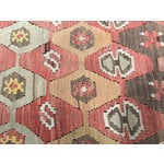 "Image of Vintage Turkish Kilim Rug - 9'10"" x 11'2"""