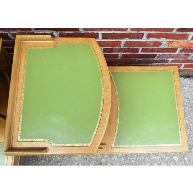 Vintage 1939 Imperial Mahogany End Tables - Pair - Image 9 of 9