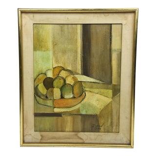 Deon Robertson Still Life Oil on Canvas