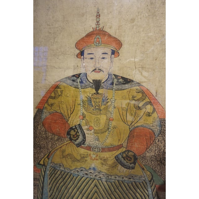 Chinese Ancestor Portrait - Image 3 of 5