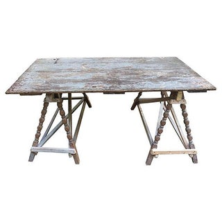 French Farm Door Table