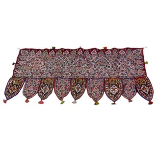 Multicolor Mirrored Toran Textile
