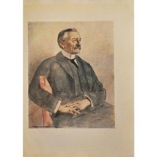 Colonel Frank Rhodes Lithograph